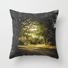 On the road again Throw Pillow by HappyMelvin | Society6