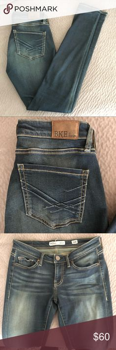 BKE Stella Skinny Jeans BKE denim Stella skinny jeans. Worn only a handful of times and in perfect condition. 26 x 31 1/2. 26R. BKE Jeans Skinny