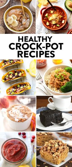 These Healthy Crock-Pot Recipes will make your life so much easier during the hustle & bustle of fall, so make one of them and freeze some for later!