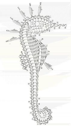 seahorse diagram! Pinning it because I think it's beautiful but I can't pretend to know how to read it passed round 1. Even then I think I screwed up round ... Eh.