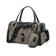 PetsLove PU Leather Dog Carriers Pet Bags Tote Puppy Purse Handbag Cate Cage Doggy with Adjustable Crossbody Strap Small * Read more reviews of the product by visiting the link on the image. This is an Amazon Affiliate links.