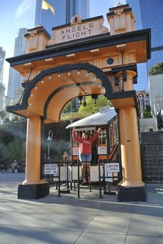 Angels Flight Downtown Los Angeles