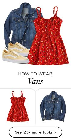 """[ Outfit ]"" by demiwitch-of-mischief on Polyvore featuring Gap and Vans"