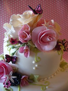 Pink Fleur - detail by nice icing, via Flickr