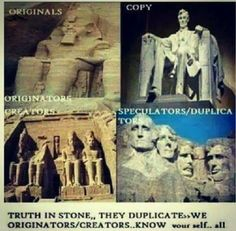 They say imitation is the sincerest form of flattery. I say, if the originators aren't properly compensated and/or given credit then it's theft. Black History Books, Black History Facts, Ancient Aliens, Ancient History, Ancient Egypt, Creepy, History Education, Ancient Mysteries, African American History
