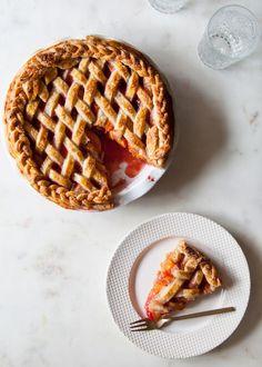 Apricot Raspberry Pie + Real Talk: Migraines | Style Sweet CA | Bloglovin'