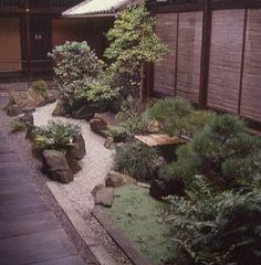 Small courtyard gardens known as tsubo niwas became popular in Japan during the 15th Century. The gardens were common in Japanese cities and were often found at the homes of wealthy merchants. These small gardens are still popular today especially where space is at a premium.