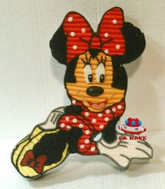Tarta golosinas Minnie Mouse.