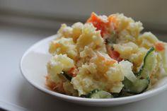 Ketunhäntä keittiössä: ポテトサラダ ・ Perunasalaatti