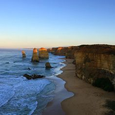 #sunrise #12apostles #greatoceanroad #melbourne #iphone6plus #nature #scenery #shortescape by hendy_miekj http://ift.tt/1ijk11S