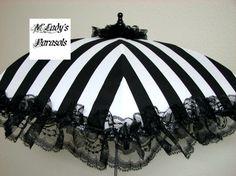 VICTORIAN PARASOL Umbrella in Elegant di MLadysParasols su Etsy