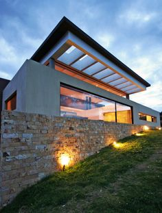 AR House, La Calera, Colombia by Campuzano Architects.