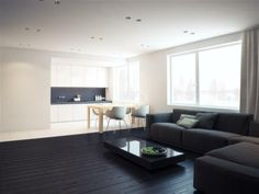 Moderne Böden 32 perfectly minimal living areas for your inspiration