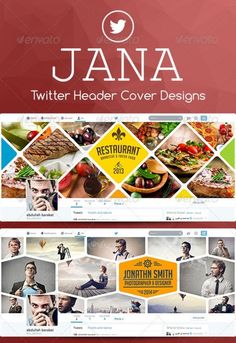 30+ Creative Twitter Covers Templates of 2014