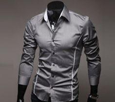 Mens Casual Slim fit stylish mens dress shirt