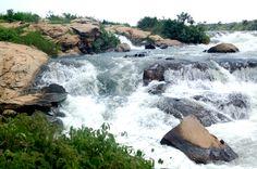 Bujagali falls, Uganda. Going to raft on the Nile here!!