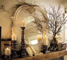 Mantel Decorations ideas