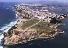The beautiful island of Puerto Rico.