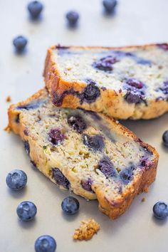 Blueberry Banana Zucchini Bread - Banana bread just got BETTER with juicy…