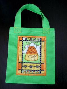 Trick or Treat Toddler Tote