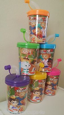 Daniel Tiger Neighborhoods Personalized Party Favor Treat Cups ~ Set of 6
