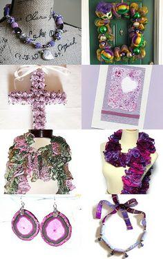 Purple Haze by Sara Kamla on Etsy--Pinned with TreasuryPin.com