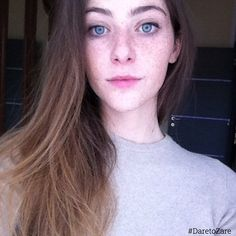 """Those Eyes  and #Freckles!! | #ZařeBeauty :@whois_smoggye | @ZareBeauty | #DaretoZaře | #glow #beauty #skin #skincare #healthy #natural #nomakeup #photooftheday #nomakeupselfie #eyes #smile #pretty #DareToZare #daretobare #nofilter #selfie #hair #effyourbeautystandards #love #beautiful #girl #amazing #dontcare"" Photo taken by @zarebeauty on Instagram, pinned via the InstaPin iOS App! http://www.instapinapp.com (02/01/2015)"