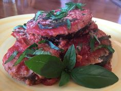 Eggplant Parmesan is a great lunch or dinner meal that is hearty, full of  flavor, and nutritionally sound. Did you know, eggplant is in a  plant-family that is related to potatoes, one of my favorite foods and  basis of the Starch Solution diet advocated by Dr. John McDougal? In this  way, you may notice a similarity in taste and texture. One other thing  about eggplant that can be desirable in a vegan diet is that it does a  decent job of replicating the taste and texture of chicken…