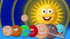 Chanson des planètes | Chanson de la maternelle | Rimes d'enfants | Plan...