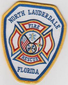 North Lauderdale, Florida Fire Rescue Department shoulder patch.