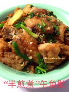 Fried Fish in Soy Sauce Gravy