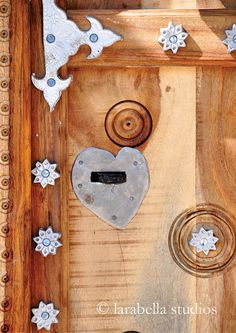 Heart Door by LarabellaPhotos on Etsy, $26.00