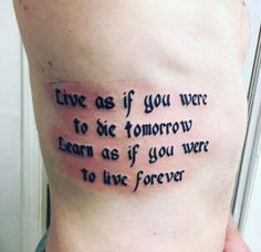 Learn forever quote by Ali Mcintire