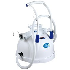 Polti Sani System Express - This Polti Sani System Express is a very practical steam disinfection system to use. Thanks to the pull-out handle, the Sani System Express is easy to carry from one room to another making it an ideal steam cleaner for dentists, doctors, nursing homes, etc.
