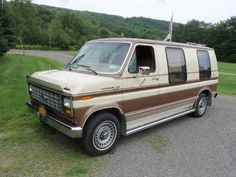 1985 Econoline Conversion Vansentimental Since My Grandparents Had One In Grey