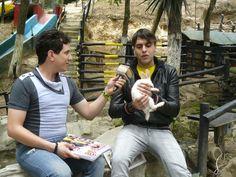 Daniel Pereira en el programa Aventura Animal transmitido por La Tele @Danielpereiratm