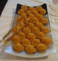 Baked Cheese Olives Recipe, How To Make Cheese Olives, Appetizer Recipes, Olive Recipes, Hors d'oeuvre