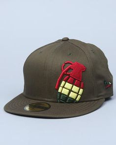 7be59d08743 Grenade - Irie Halfer New Era Fitted Cap Men s Hats