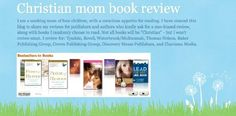 Christian Mom Book Review blog by Christy Hovey http://www.amazon.com/dp/B00CNK62LG/ref=cm_sw_r_pi_dp_qH.Hrb11VE4YG