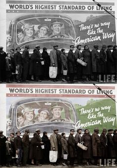 Margaret Bourke-White, great depression a color. Vedi: http://dragonfly0088.wordpress.com/2011/05/18/theres-no-way-like-the-american-way/