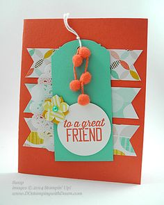 Sale-a-Bration Best Year Ever DSP Swaps shared by Dawn Olchefske #dostamping #stampinup
