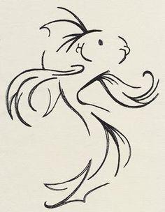 Poisson, dessin