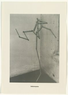 Sigmar Polke with Christof Kohlhöfer. Measuring Stick Palm Tree (Zollstockpalme) from The Palm Tree Series (Palmenserie) ffrom .....Higher Beings Ordain (.....Höhere Wesen befehlen) 1966, published 1968