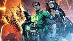 Comics Liga De La Justicia  Linterna Verde Flash Superman Batman Mujer Maravilla Aquaman Fondo de Pantalla