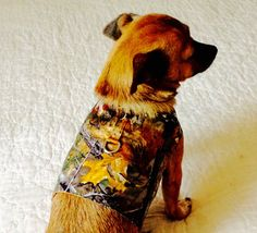 Small Dog Harness Small Dog Vest Dog by BloomingtailsDogDuds