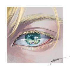 aslan jade callenreese has the second most beautiful eyes I've ever seen Manga Anime, Fanarts Anime, Anime Eyes, Anime Art, Banana Art, Japon Illustration, Fish Art, Lynx, Boku No Hero Academy