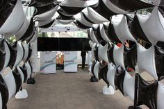 Air-filled Starpoint tunnel!!! by: STEWART's Baskets & Balloons www.reli-a-drop.com