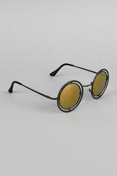Round Antique Sunglasses - Black Description These  sunglasses  feature a very unique frame with open borders and a detailed nose bridge, iridescent lenses, and long temple tips for security.  Measurement Measures approx. 2.1  L x 5.1  W. UNG62038BLC   http://p.nembol.com/p/EyKxGZSpx Published via Nembol app