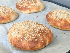 Gluten Free Buns, Gluten Free Dinner, Dinner Bread, Fodmap, Doughnuts, Bread Baking, Yummy Food, Vegan, Recipes