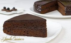 Step-by-Step Sacher Cake by JamilaCuisine Sacher, Good Food, Yummy Food, Cupcakes, Fancy, Pinterest Recipes, Dessert Recipes, Desserts, Food Hacks